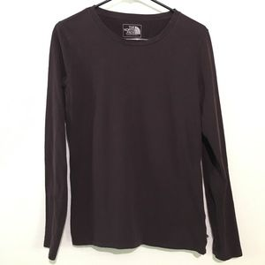2/$20 The North Face Purple Long Sleeve Shirt